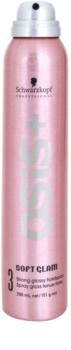 Schwarzkopf Professional Osis+ Soft Glam hajlakk dús és fényes hajért