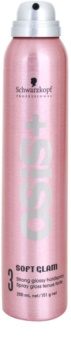 Schwarzkopf Professional Osis+ Soft Glam lak na vlasy pre objem a lesk