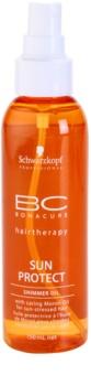 Schwarzkopf Professional BC Bonacure Sun Protect csillogó olaj nap által károsult haj