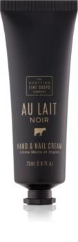 Scottish Fine Soaps Au Lait Noir krém na ruky a nechty