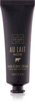 Scottish Fine Soaps Au Lait Noir крем для рук та нігтів