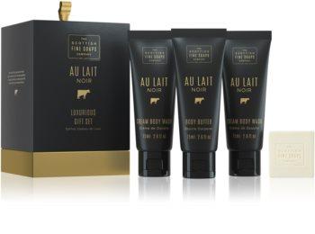 Scottish Fine Soaps Au Lait Noir Cosmetic Set VII.