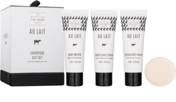 Scottish Fine Soaps Au Lait Cosmetic Set II. for Women