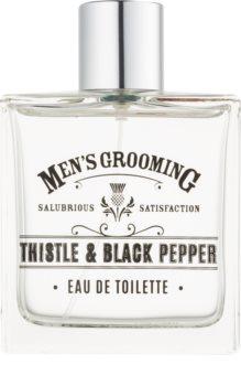 Scottish Fine Soaps Men's Grooming Thistle & Black Pepper Eau de Toilette for Men 100 ml
