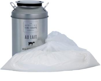 Scottish Fine Soaps Au Lait mliečny prášok do kúpeľa s harmančekom