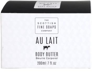 Scottish Fine Soaps Au Lait Body Butter