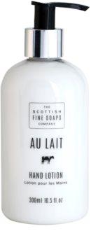 Scottish Fine Soaps Au Lait Hand Lotion