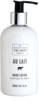 Scottish Fine Soaps Au Lait testápoló tej kézre