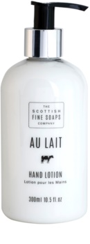 Scottish Fine Soaps Au Lait молочко для рук