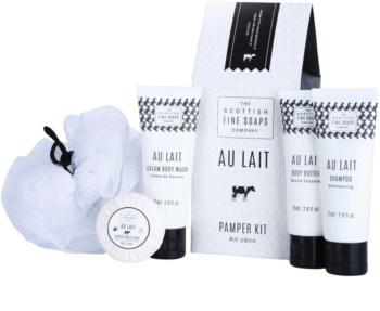 Scottish Fine Soaps Au Lait Cosmetic Set I.