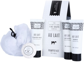 Scottish Fine Soaps Au Lait set cosmetice I.