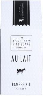Scottish Fine Soaps Au Lait kosmetická sada I.