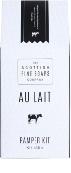 Scottish Fine Soaps Au Lait set cosmetice I.