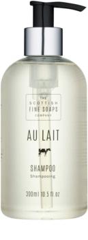 Scottish Fine Soaps Au Lait vlasový šampon