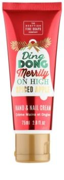 Scottish Fine Soaps Ding Dong Merrily krém na ruce a nehty