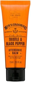 Scottish Fine Soaps Men's Grooming Thistle & Black Pepper bálsamo after shave