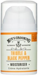 Scottish Fine Soaps Men's Grooming Thistle & Black Pepper gel idratante per il viso
