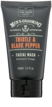 Scottish Fine Soaps Men's Grooming Thistle & Black Pepper gel za umivanje obraza