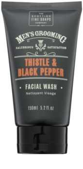 Scottish Fine Soaps Men's Grooming Thistle & Black Pepper mycí gel  na obličej