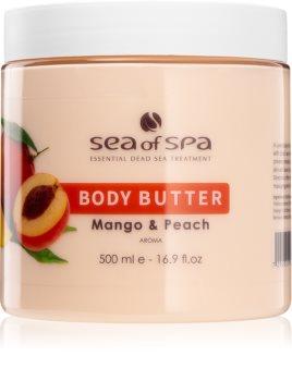 Sea of Spa Dead Sea Treatment manteiga corporal de pêssego e manga
