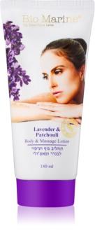 Sea of Spa Bio Marine Lavender & Patchouli tělové a masážní mléko