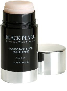Sea of Spa Black Pearl tuhý dezodorant pre ženy