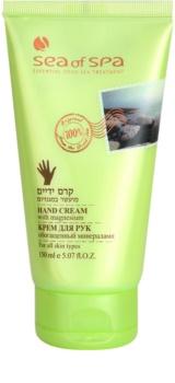 Sea of Spa Essential Dead Sea Treatment crema de manos protectora con minerales del Mar Muerto