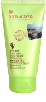 Sea of Spa Essential Dead Sea Treatment crema protectoare pentru maini cu minerale de la Marea Moarta