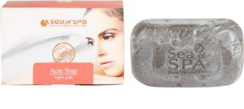 Sea of Spa Essential Dead Sea Treatment tuhé mydlo proti akné