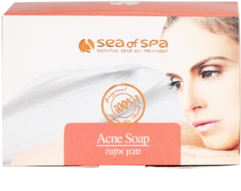 Sea of Spa Essential Dead Sea Treatment tuhé mýdlo proti akné
