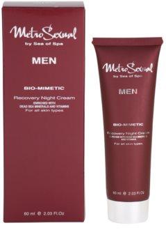 Sea of Spa Metro Sexual regenerační noční krém pro muže
