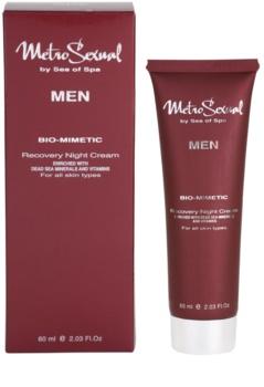 Sea of Spa Metro Sexual regeneračný nočný krém pre mužov