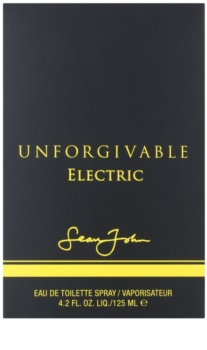 Sean John Unforgivable Electric Eau de Toilette für Herren 125 ml