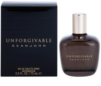 Sean John Unforgivable Men eau de toilette férfiaknak 75 ml