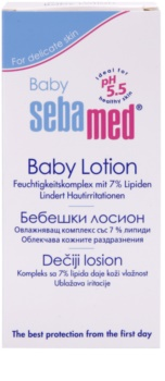 Sebamed Baby Care hydratační tělové mléko