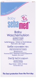 Sebamed Baby Wash Extra Gentle Cleansing Emulsion For Body And Hair