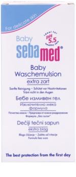 Sebamed Baby Wash Lotiune pentru spalare cu efect catifelant pentru corp si par