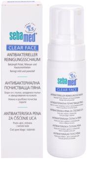 Sebamed Clear Face espuma de limpeza antibacteriana