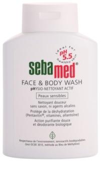 Sebamed Wash nežna emulzija za umivanje tela in obraza za občutljivo kožo