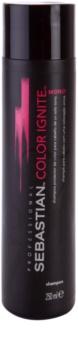 Sebastian Professional Color Ignite Mono šampon pro jednotný tón barvených vlasů