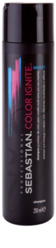 Sebastian Professional Color Ignite Multi Sampon pentru par vopsit, decolorat și tratat chimic.