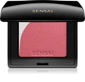 Sensai Blooming Blush blush iluminador com pincel