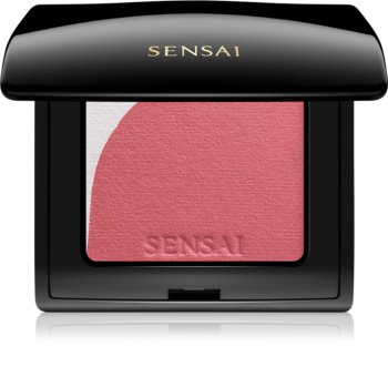 Sensai Blooming Blush rozjasňujúca lícenka so štetčekom