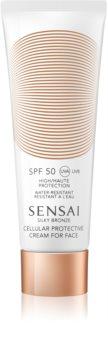 Sensai Silky Bronze Anti - Wrinkle Sun Cream SPF 50