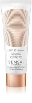 Sensai Silky Bronze Anti - Wrinkle Sun Cream SPF 50