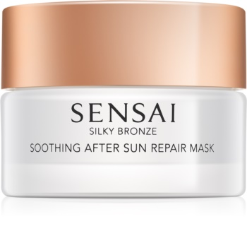 Sensai Silky Bronze máscara hidratante e apaziguadora  pós-solar