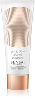 Sensai Silky Bronze Zonnebrandcrème tegen Huidveroudering  SPF30
