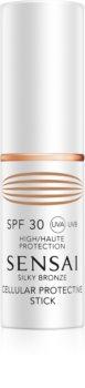Sensai Silky Bronze ochranná tyčinka na citlivá místa SPF 30