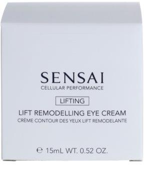 Sensai Cellular Performance Lifting crema para contorno de ojos con efecto lifting con efecto remodelador