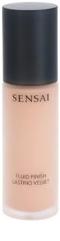 Sensai Fluid Finish Lasting Velvet fluidní make-up pro dlouhotrvající dokonalý vzhled pleti